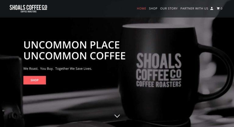 shoals coffee sponsor